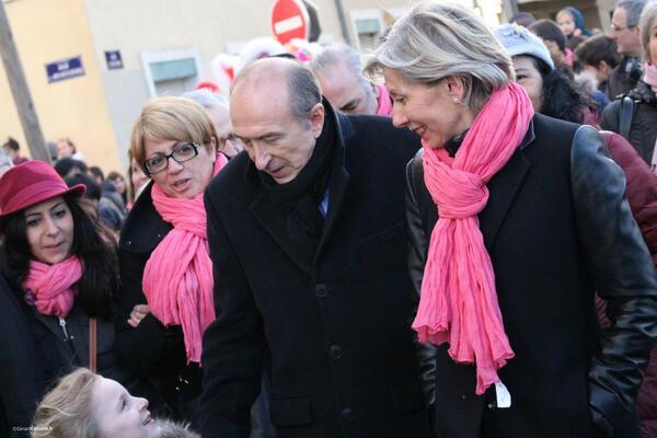 Municipales 2014. Gérard Collomb en «rase» campagne