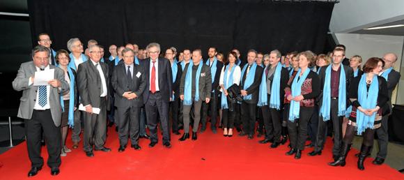 Les nouveaux adhérents de la CGPME chez Audi Delorme