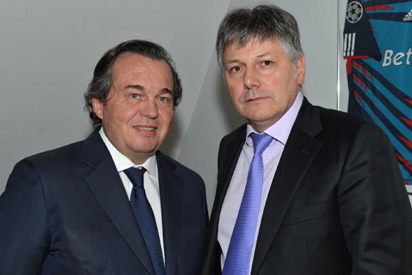 1. Olivier Ginon (Président de GL Events) et Olivier Delorme (Président du Groupe Delorme)