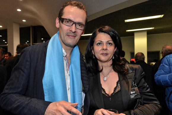 10. Sébastien Chaudat (Be Unlimited) et Nathalie Romer (Lusso shoes)