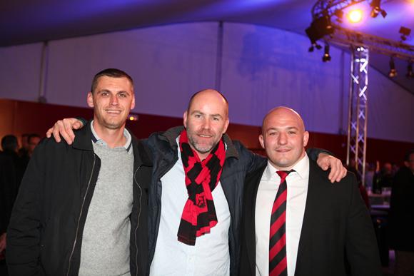 10. Kevin Collin, Thomas Vedrine (Cuisine du Sud) et Jérémy Castex, pilier (LOU Rugby)