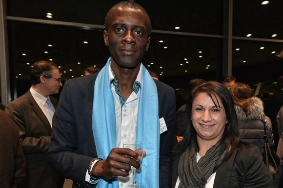 11. Charles Soumahoro et son épouse (Charles Lancy France)