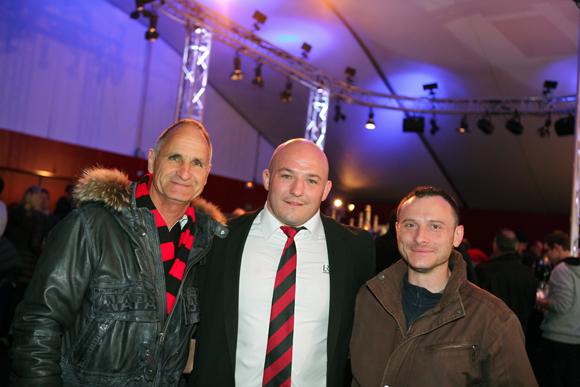 11. Guy, Jérémy Castex, pilier (LOU Rugby) et Laurent Chavanne (Vulco)