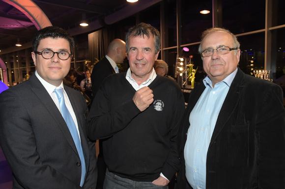 12. Frédéric Blanc (Directeur commercial, Mercedes-Benz & smart Lyon), Pierre Thibaut et Jean-Jacques Mingat (Mingat)