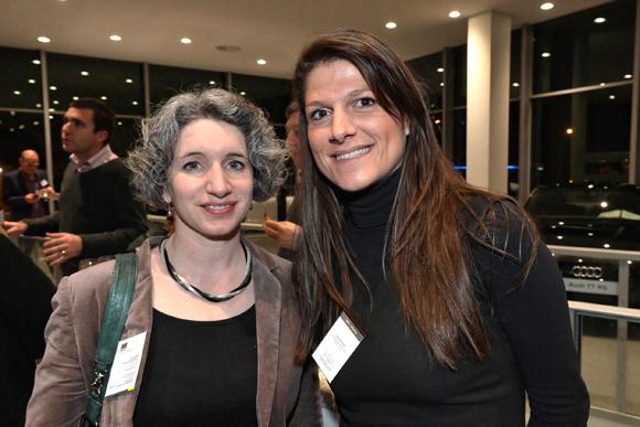 13. Roselyne Hubert (IGS – Alternance) et Diane Buchet (April entreprises)