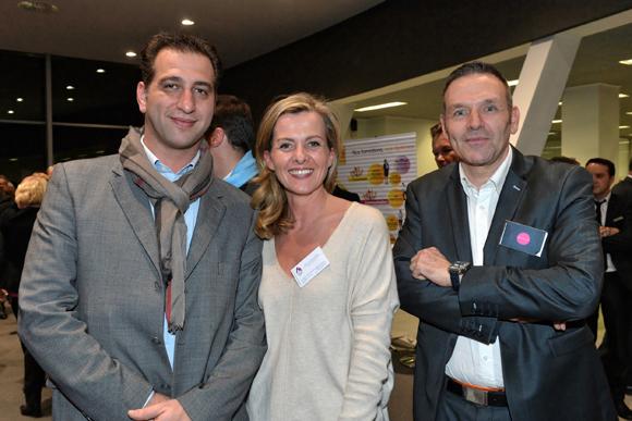 14. Julien Ploton (Président du Pôle Jeunes CGPME), Marie-Victoire Camus (Responsable marketing CGPME) et Hervé Bigal (Influactive)