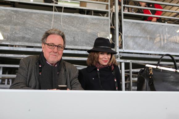 14. Jean-Marie Nauleau et Raphaëlle Brulas, attachée parlementaire de Nora Berra