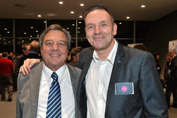 15. François Turcas (Président de la CGPME) et Hervé Bigal (Président d'Influactive)