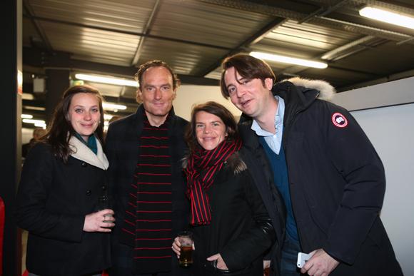 16. Anne-Solène Chapuis (Solvay), Cyril Janssen, Anne-Sophie Ginon (GL Events) et Henri Dumas Marze