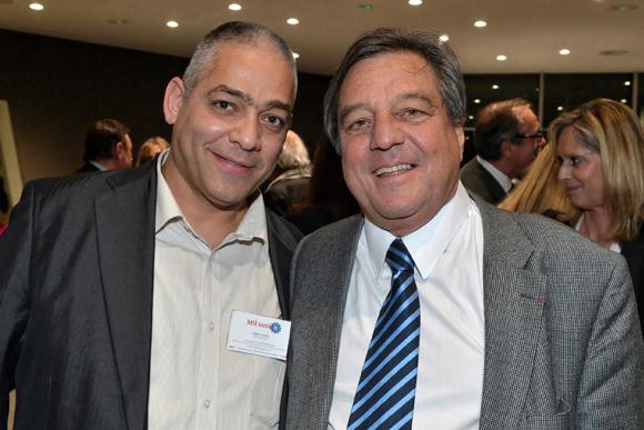 17. Frédéric Nakhal (MSI Services) et François Turcas