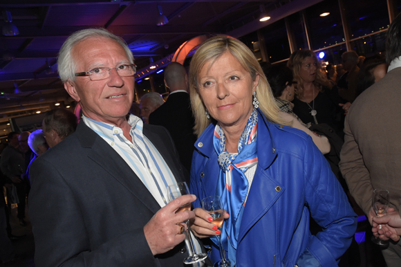 17. Hervé Chambe et sa compagne Pascale