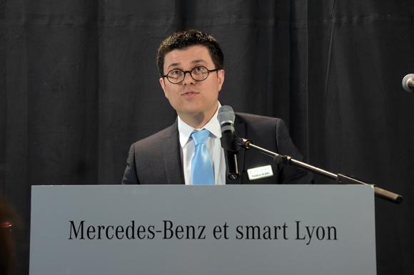 17a. Frédéric Blanc (Directeur commercial, Mercedes-Benz & smart Lyon)