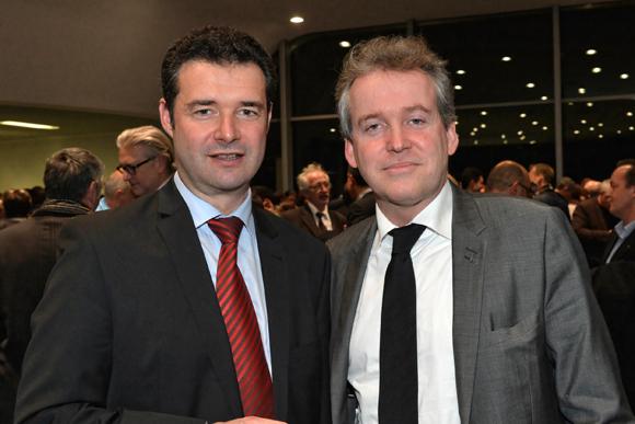18. Franck Morize (Secrétaire Général de la CGPME) et Luc Lafond (1er adjoint au maire du 6ème)