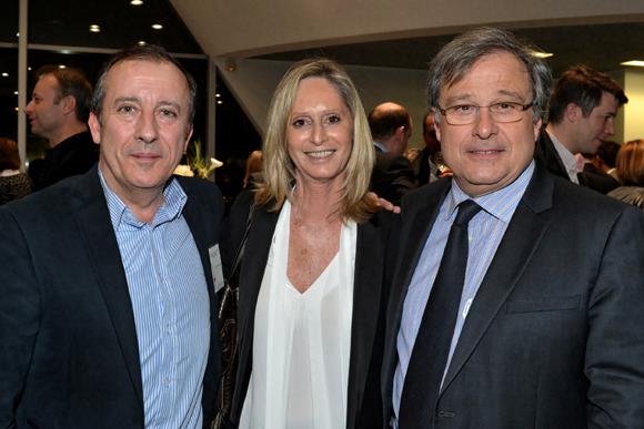 19. Eric Pecout (Cafés Folliet), Catherine Ricard (CGPME) et Emmanuel Imberton (Président de la CCI)
