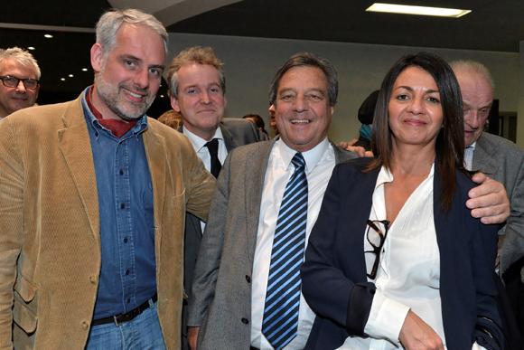 21. Jean Philippe Peynard (AXA), Luc Lafond, François Turcas et Amele Carat (Algorys)