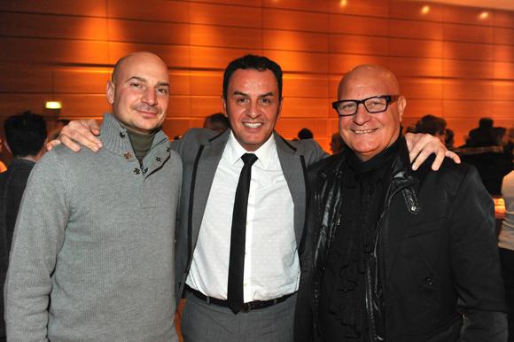 2. Tony Balsamo (Onil Immobilier), Michel Mancuso (Millésime Patrimoine) et Philippe Balsamo (BCCA Construction)
