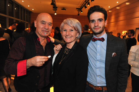 21. Marcel Gallardo, son épouse Katia et leur fils Yohann