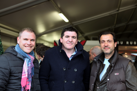 2. David Goguet (SFI), Pierre Raschi (référence DSI) et Bruno Pompognat (Axa Assurance)