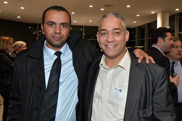 22. Marc Nakhal (MSI Services) et Michel Ferlay