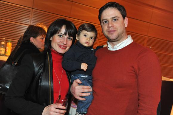 22. Maximilien Haibi (HTTP 5000), son épouse Valentina et leur fils Evan