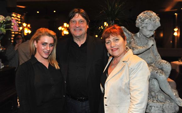 23. Elodie Poncet (BNP Paribas), Philippe Calsile (ARLIM) et son épouse Sylvie