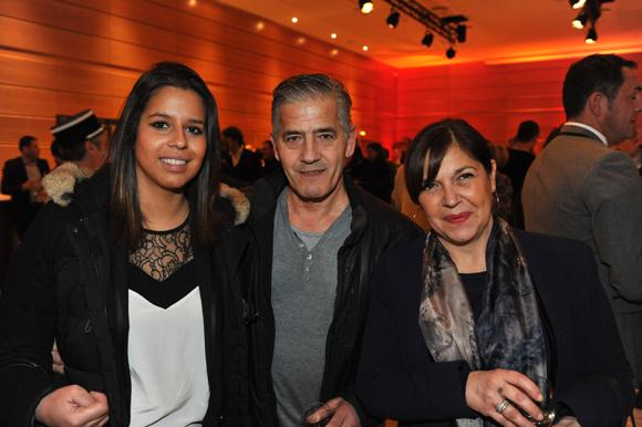 26. Maeva Boccuzzi (SLCI Promotion), ses parents Claude et Jérémine (Farfalla Caffé)