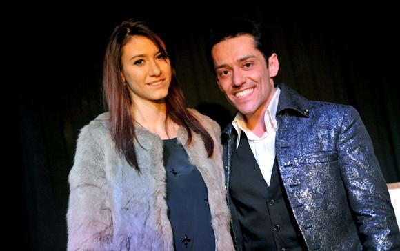 26. Frédéric Da Silva et une admiratrice Pauline