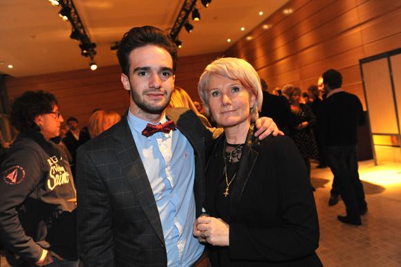 27. Yohann Gallardo et sa mère Katia