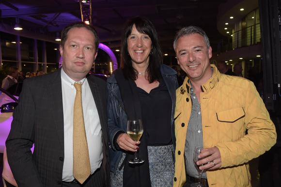 28. Didier Dalod (Piman Consultants), Denis Roman et son épouse Nathalie