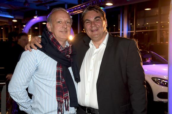 31. Louis- Eric Beckensteiner (Rio Grande) et Frédéric Bouillé, Directeur Général Mercedes-Benz Lyon & Smart Lyon