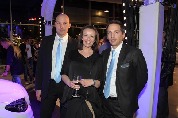 35. Matthieu Gayral, Christelle Serer et Michaël Cavalli (Mercedes-Benz)