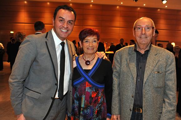 3. Michel Mancuso (Millésime Patrimoine), Danielle Vaujany et son époux Robert