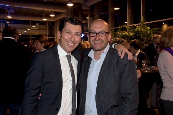 48. Laurent Bernardeau (marketing Mercedes-Benz Lyon & smart) et Philippe Greusset (Isis)