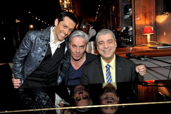 5. Le mentaliste Frédéric Da Silva, Marc Joly et le pianiste Jean-Jacques Gaillard (Carmelina)