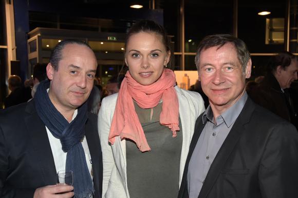 5. Richard Thavel (SCP Zerbib), Célie Laporte, Pascal Armata, Président de Look at me events