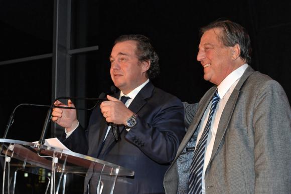 6. Olivier Ginon (Président de GL Events) et François Turcas (Président de la CGPME)