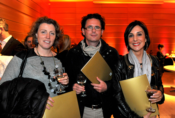 6. Sabine Chollet, Romain Porte (Anjalys) et Sophie Liminana (Crédit Foncier)