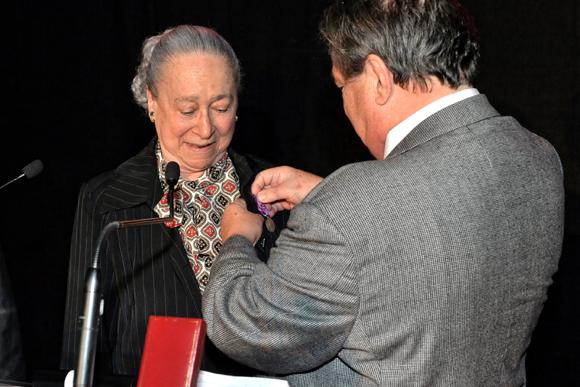 7bis. Jeanine Chamfly, conseillère prudhommale, récipiendaire de la médaille d'argent du Ministère de la Justice