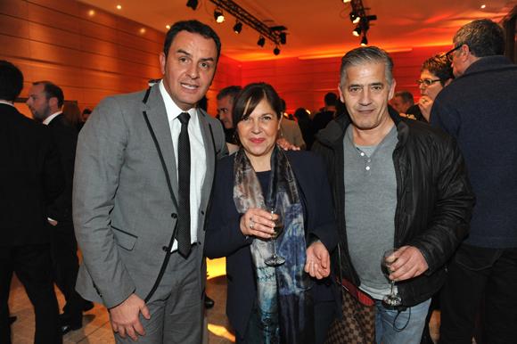 7. Michel Mancuso (Millésime Patrimoine), Jérémine et Claude Boccuzzi (Farfalla Caffé)