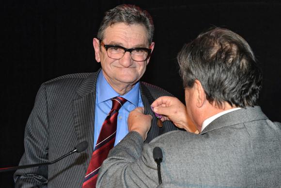 8. Jacques Counio, conseiller prudhommal, récipiendaire de la médaille de bronze du Ministère de la Justice