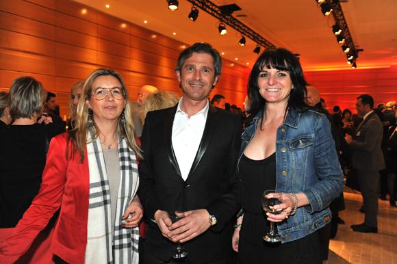 8. Nathalie Sarazin (GE Money Bank), Franck Routin et Marie Villard (Pages Jaunes)