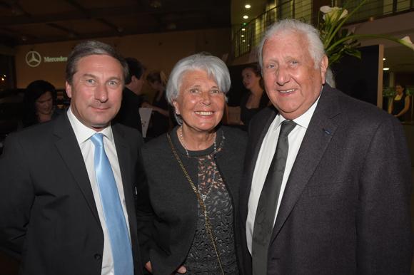 8. Michel Caporale (Mercedes-Benz), René Nardone et son épouse Michelle