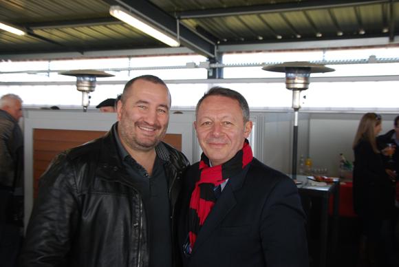 3. Fabrice Tiozzo et le député Thierry Braillard