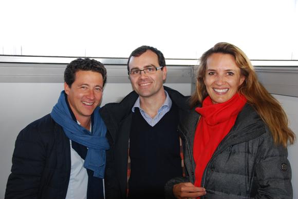5. Jean-Jacques Schmitt (Banques Rhône-Alpes) entourré de M. et Mme Pariset