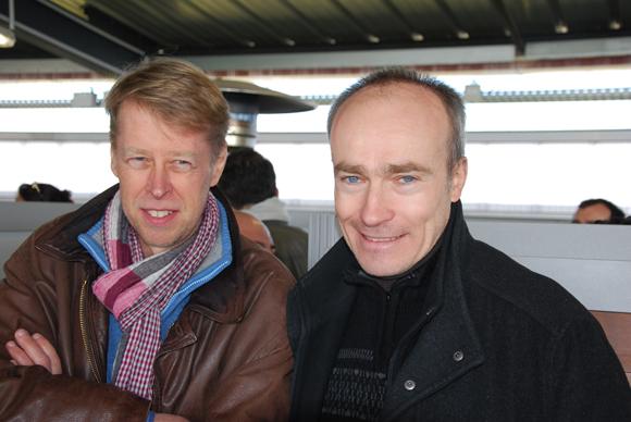 6. M. Chamaly (Dialux) et M. Vacher (TLM)