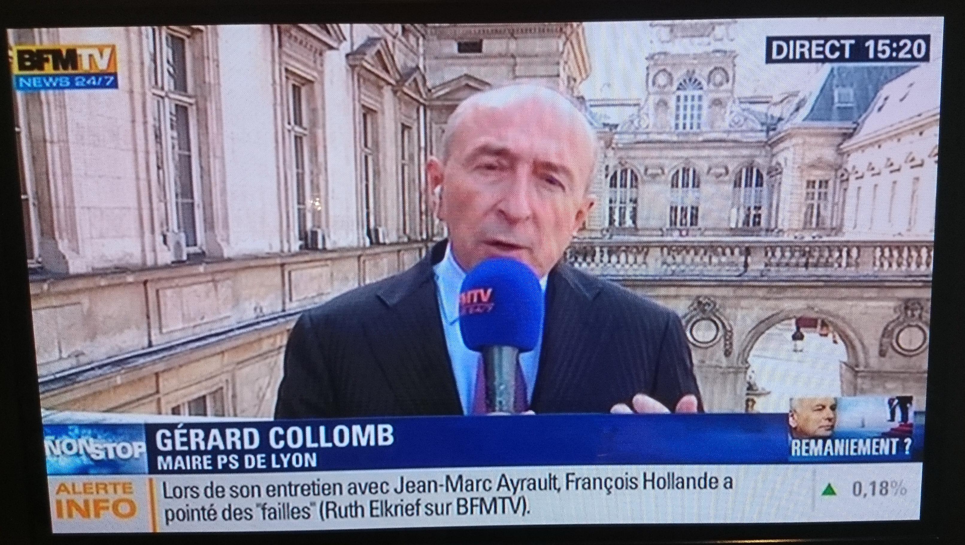 Gérard Collomb joue aujourd'hui son avenir national