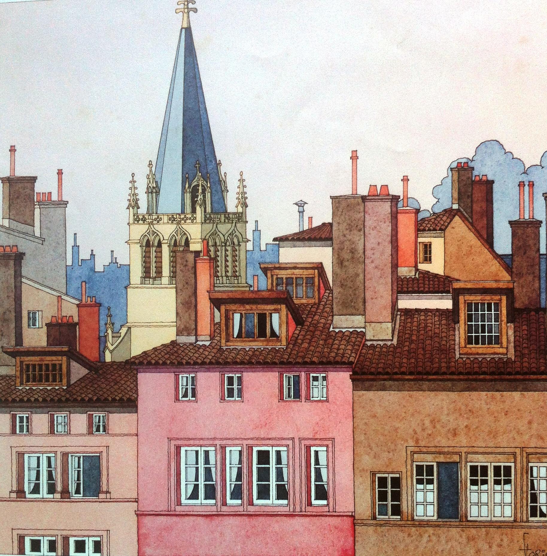 Galerie de la Charité. Patrice Flori, voyageur imaginaire