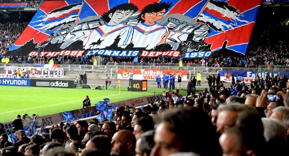 Les tribunes VIP d'OL- ASSE. Adieu Ligue des Champions