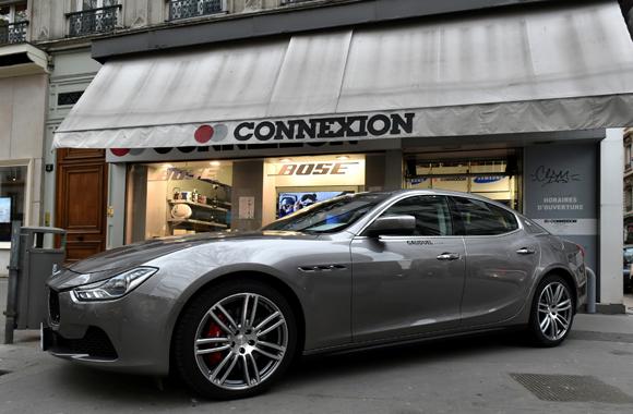 Maserati monte le son chez Tedd Connexion