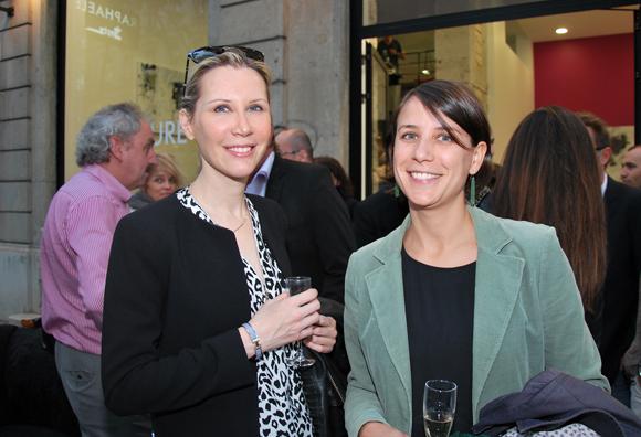 10. Le docteur Armelle Chichery et Aurélie Collange